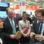 MP Dreyer auf der CeBIT