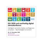 Die DIV 2020 und nachhaltig.digital Jahreskonferenz bringt Experten der Digitalisierung und Nachhaltigkeit zusammen.