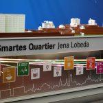 """Die Stadt Jena und die Fokusgruppe Intelligente Vernetzung präsentieren der Bundeskanzlerin das """"Smarte Quartier Jena Lobeda"""""""
